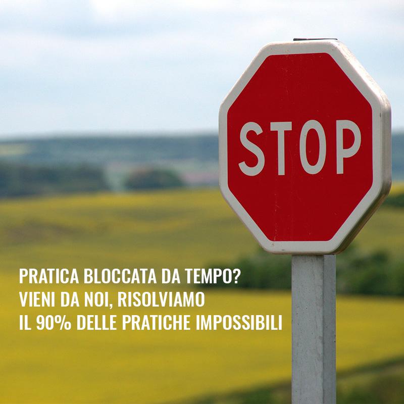 visual segnale stop